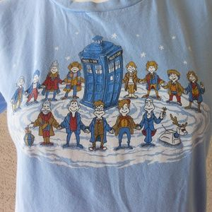 Dr Whoville Tardis Dr Suess Mashup Tee